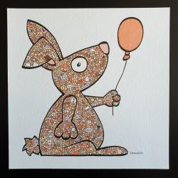 Le lapin au ballon
