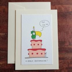 Carte d'anniversaire - Le...
