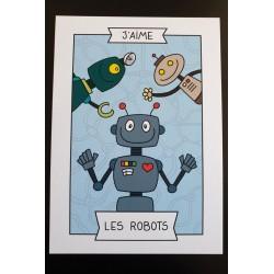 J'aime les robots